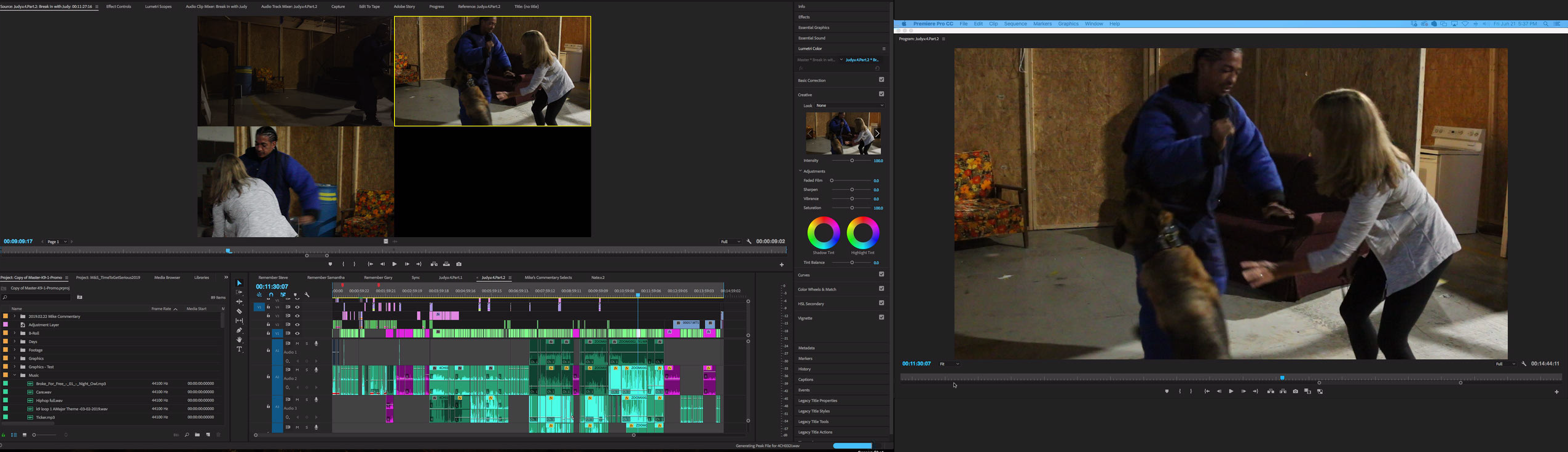 editing post production